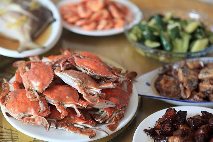 衢山岛海鲜美食